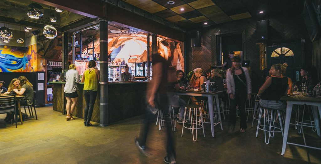 bar, food, laneway & Alfresco Beer GArden