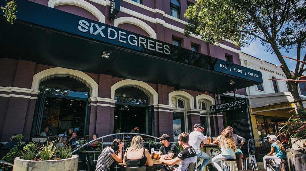 Six Degrees Beer Garden