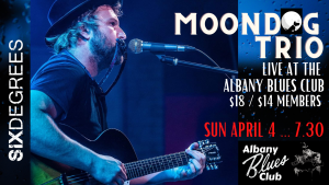 Moondog Trio LIVE at The Albany Blues Club @ Six Degrees