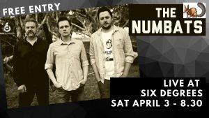 THE NUMBATS LIVE @ 6D