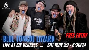 BLUE TONGUE LIZZARD