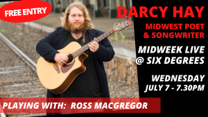 Darcy Hay LIVE @ Six Degrees