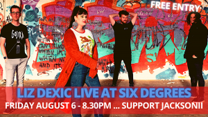Liz Dexic Live at Six Degrees - with Jacksonii