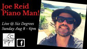 Joe Reid - Piano Man LIVE @ Six Degrees