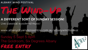 Albany Wind Festival- The Wind Up