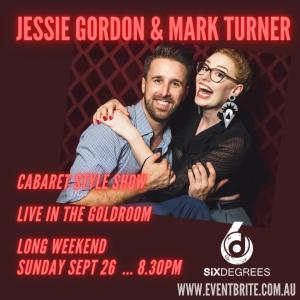 Jessie Gordon & Mark Turner LIVE at SixDegrees LONG WEEKEND!!