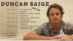 Duncan Saige Live at Six D